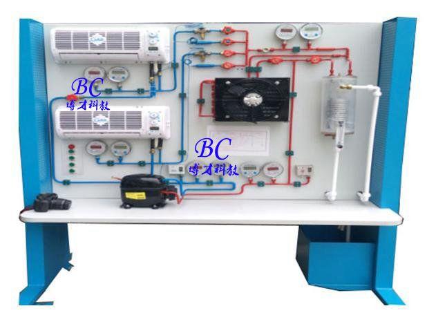 制冷系统原理性能测试实验装置