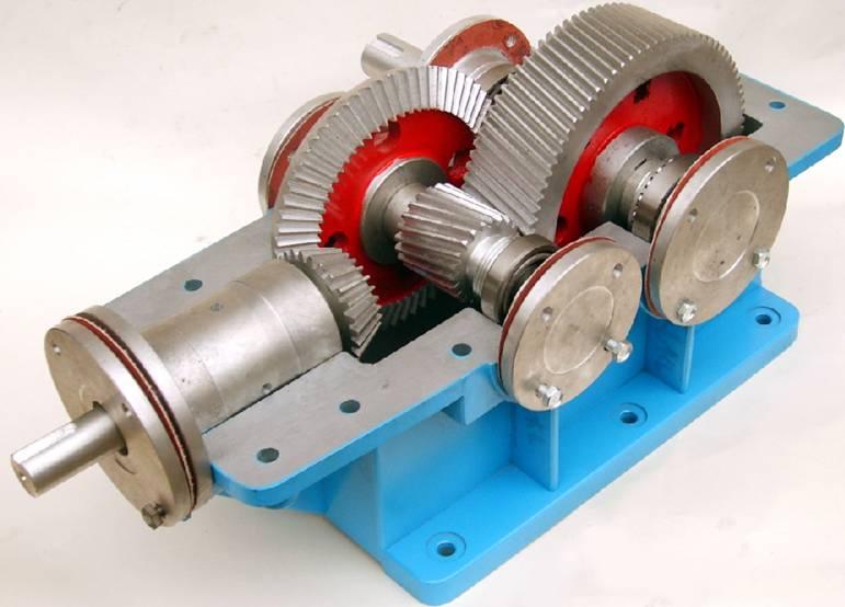 拆装实验用大型减速器
