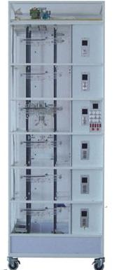 六层透明仿真教学电梯模