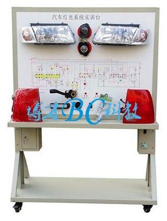 帕萨特灯光系统示教板