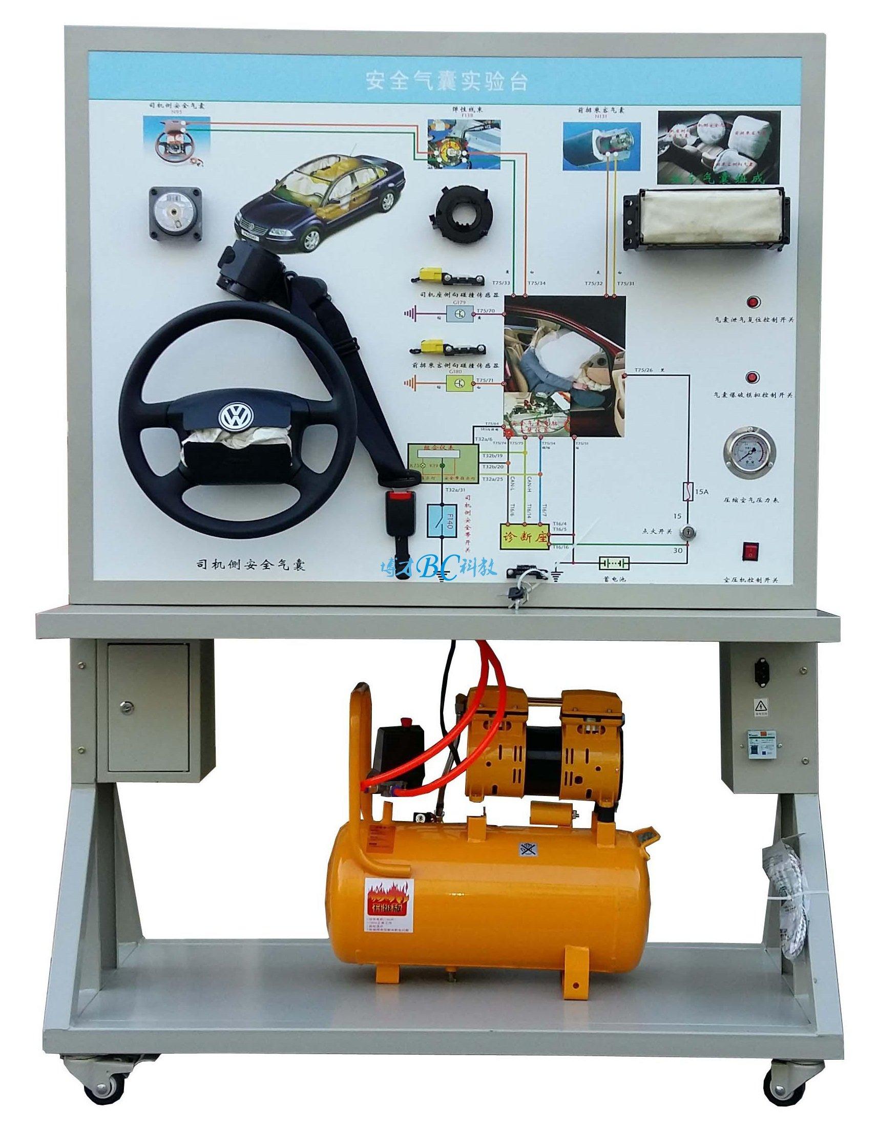 汽车安全气囊系统示教板