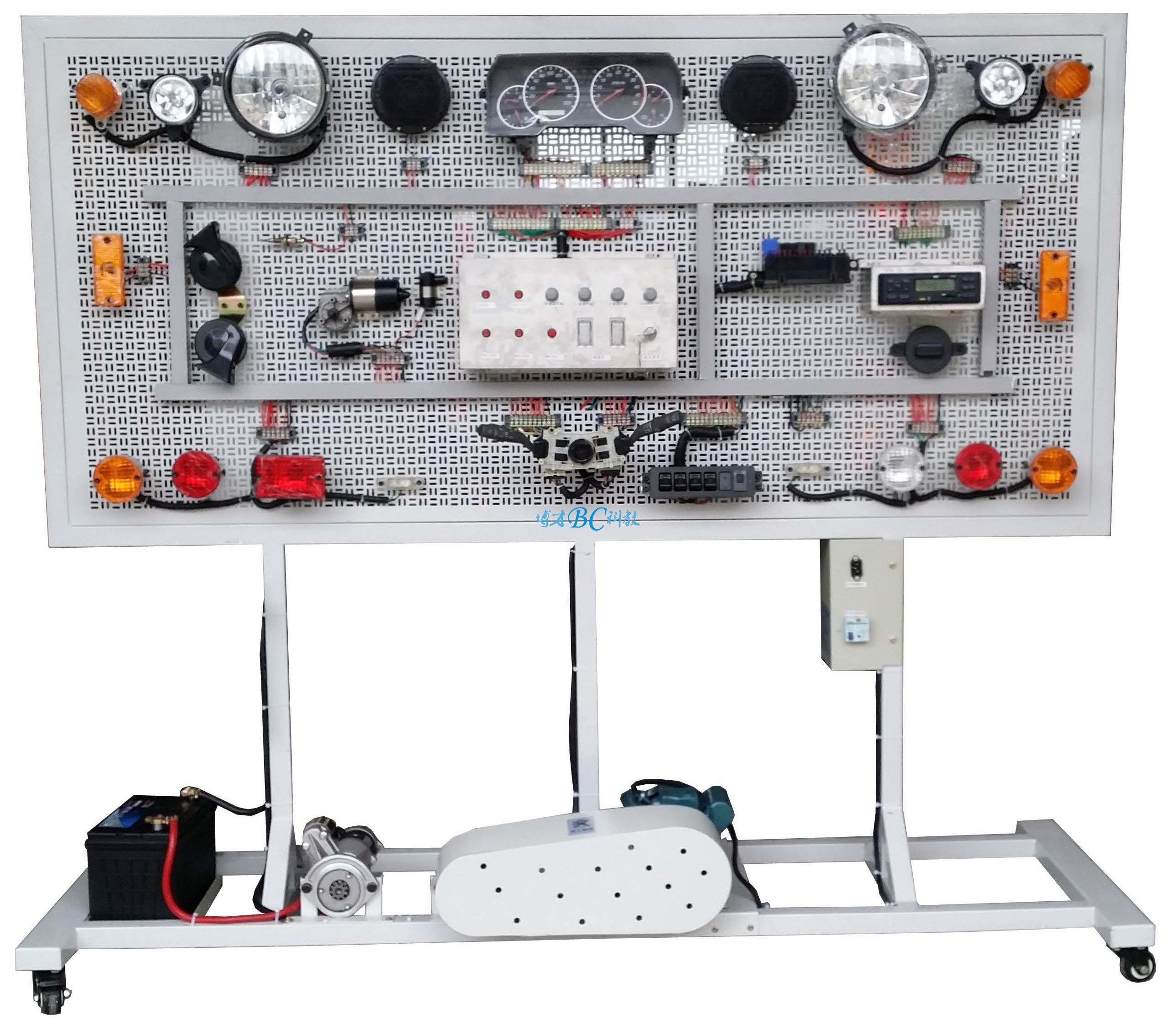 网孔式全车电器接线考核